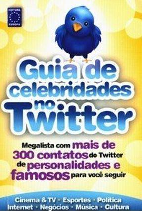 Guia de Celebridades no Twitter - Editora Europa | Hoshan.org