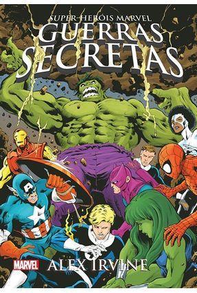 Guerras Secretas - Super-Heróis Marvel - Edição Slim