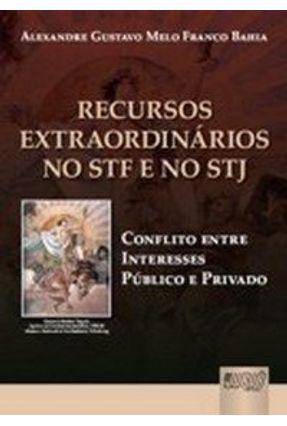 Recursos Extraordinários no Stf e no Stj - Conflito Entre Interesses Público e Privado - Bahia,Alexandre Gustavo Melo Franco | Nisrs.org