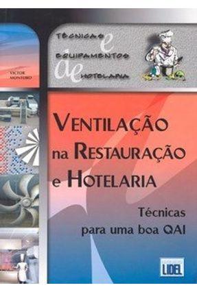 Ventilação na Restauração e Hotelaria - Monteiro,Victor pdf epub