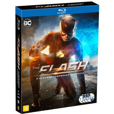 Blu-Ray The Flash - 2ª Temporada - 4 Discos