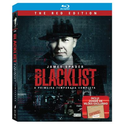 Blu-ray The Blacklist - 1ª Temporada - 6 Discos