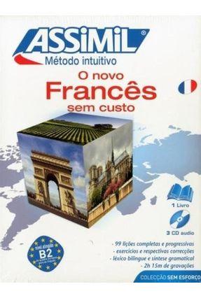 Método Intuitivo Assimil Francês - Pack Livro + CD - Cherel Jean-loup   Tagrny.org