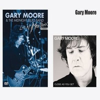 Combo Pack - Gary Moore - Live At Montreux 1990 DVD + Close as You Get CD - Série Limitada