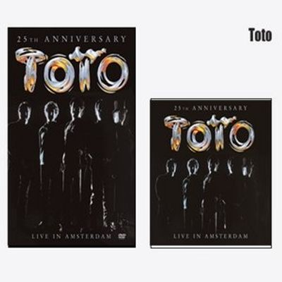 Combo Pack - Toto - Live In Amsterdam - DVD+ CD - Série Limitada
