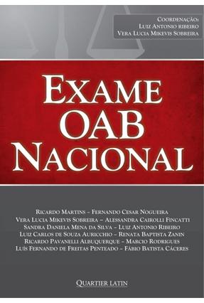 Exame da OAB Nacional - Diversos pdf epub