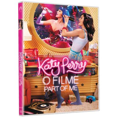 Katy Perry - o Filme - Part Of Me - DVD