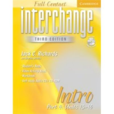 Interchange - Full Contact - Intro - Part 4 - Unit 13-16 - Third Edition