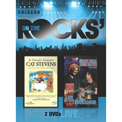 On The Rocks' - Cat Stevens & Daryl Hall e John Oates - Vol. 17 - 2 DVDs