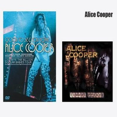 Combo Pack - Alice Cooper - Good To See You Again DVD + Brutal Planet CD - Série Limitada