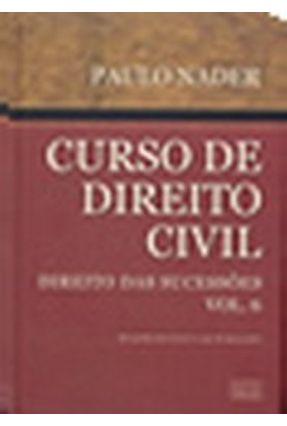 Usado - Curso de Direito Civil – Direito das Sucessões – Vol. 6 - Nader,Paulo | Hoshan.org
