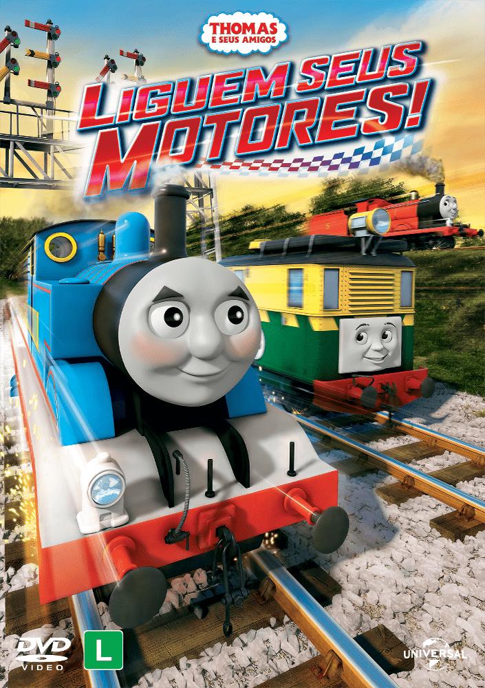Thomas E Seus Amigos Liguem Seus Motores Dvd Saraiva
