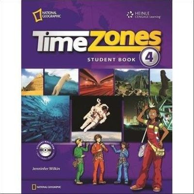 Time Zones 4 - Classroom Presentation CD-ROM