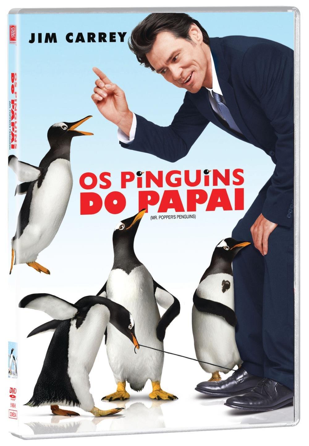 Os Pinguins do Papai - DVD - Saraiva