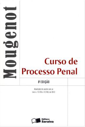 Usado - Curso de Processo Penal - 8ª Ed. 2013 - Bonfim,Edilson Mougenot | Hoshan.org