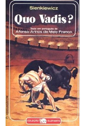 Quo Vadis ? - Col. Elefante -  pdf epub