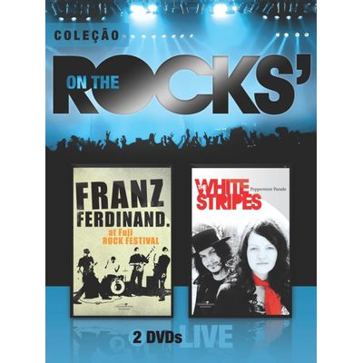 On The Rocks' - Franz Ferdinand & White Stripes - Vol. 15 - 2 DVDs