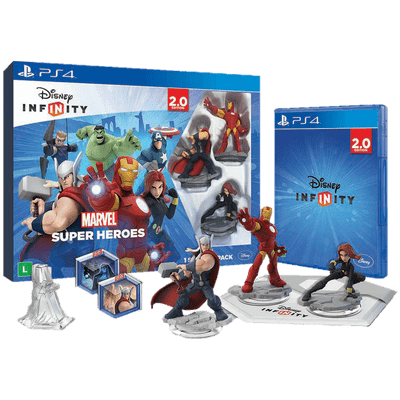 Usado - Disney Infinity 2.0 - Kit Inicial Marvel - PS4