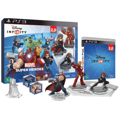 Disney Infinity 2.0 - Kit Inicial Marvel - PS3