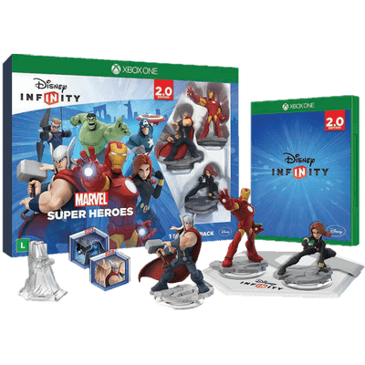 Usado - Disney Infinity 2.0 - Kit Inicial Marvel - Xbox One