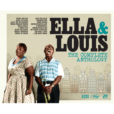 Ella & Louis - The Complete Anthology - Box Com 6 CDs - Digipack