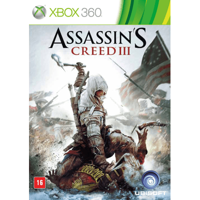 Reembalado - Assassin's Creed 3 - X360