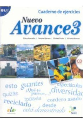 Nuevo Avance 3 - Cuaderno de Ejercicios Con CD - Moreno,Concha Zurita,Piedad Moreno,Vitoria pdf epub