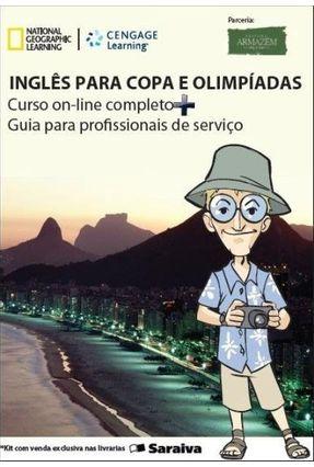 Inglês Para Copa e Olimpíadas - Curso On-line Completo + Guia Para Profissionais de Serviço - Toppan,Anette Onodera,Jorge | Nisrs.org