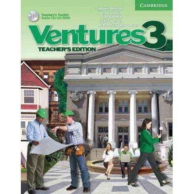 Ventures 3 - Teacher's Book With CD / CD-ROM