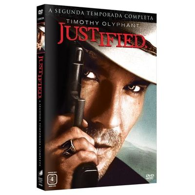 DVD Justified - 2ª Temporada - 3 Discos