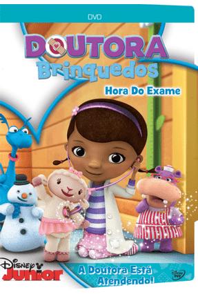 Doutora Brinquedos Hora Do Exame Dvd Saraiva