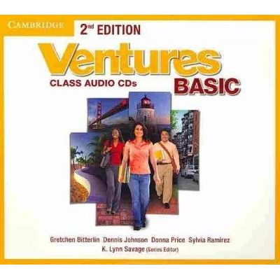 Ventures Basic - Class Audio CDs