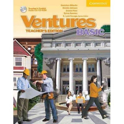 Ventures Basic - Teacher's Book With Toolkit CD / CD-ROM