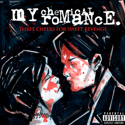 My Chemical Romance - Three Cheers For Sweet Revenge - Importado - LP