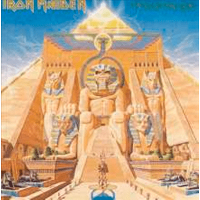 Iron Maiden - Powerslave - Importado - LP