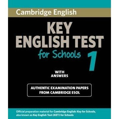 Cambridge Key English Test For Schools 1 - Student's Book With Answers