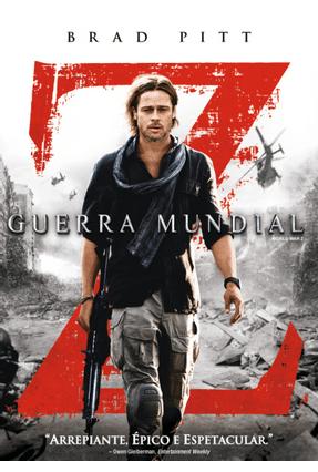 Guerra Mundial Z - DVD - Saraiva