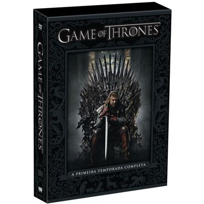 DVD Game Of Thrones - 1ª Temporada - 5 Discos