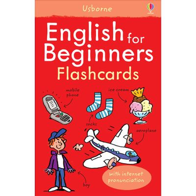 Usborne Language For Beginners Flashcards - English For Beginners