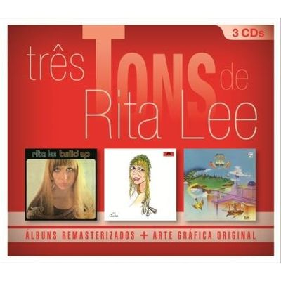 Três Tons de Rita Lee - Box Com 3 CDs