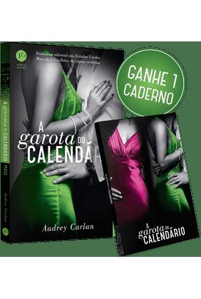A Garota do Calendário - Maio + Caderno