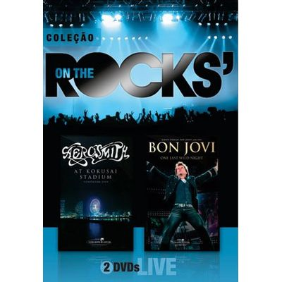 On The Rocks' - Aerosmith & Bon Jovi - Vol. 3 - 2 DVDs