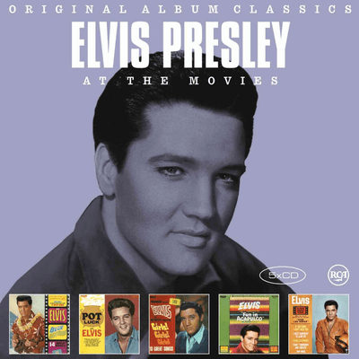 Original Album Classics - Elvis Presley - Box Com 5 CDs