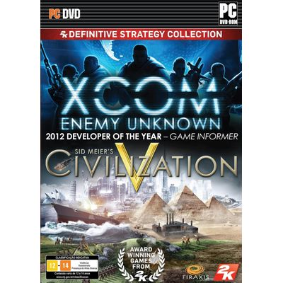 Definitive Strategy Collection - Xcom: Enemy Within + Sid Meier´S Civilization V - PC