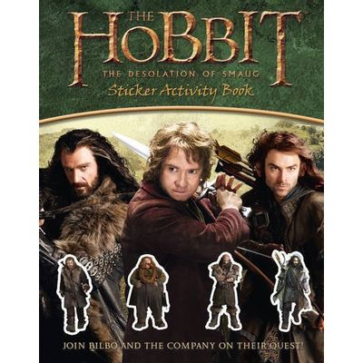 The Hobbit - The Desolation Of Smaug - Sticker Activity Book