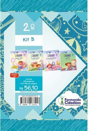 Kit B - Formando Cidadãos -  Ensino Fundamental I - 2º Ano