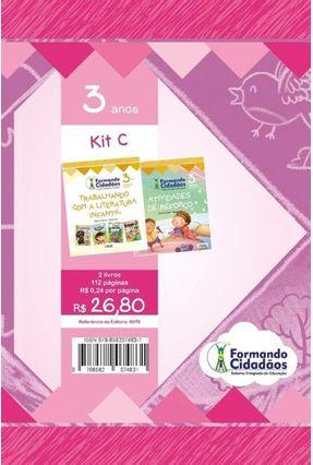 Kit C - Formando Cidadãos - 3 Anos