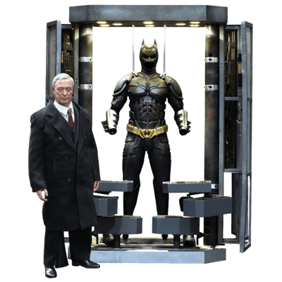 Tdk Batman Armory With Alfred - 1/6 Figure