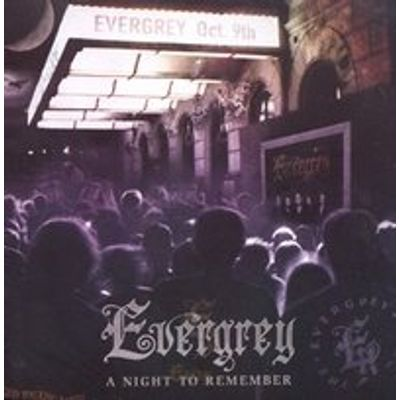 "A Night To Remember - Evergrey (CD Duplo ""ao Vivo"")"