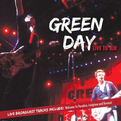 Green Day - Live To Air - Digipack